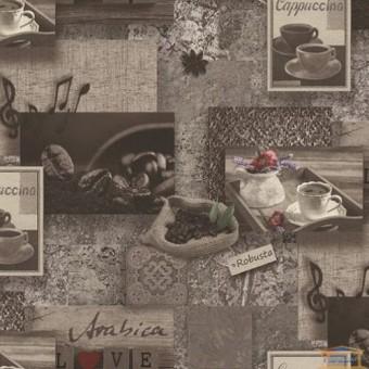 Изображение Обои виниловые 145-1110 Арабика декор (0,53*10м)  купить в procom.ua