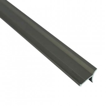 Изображение Профиль внутренний алюминиевый для плитки бронза 2,7м купить в procom.ua
