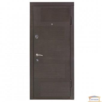 Изображение Дверь метал. ПК 18 правая 860 мм дуб темный купить в procom.ua