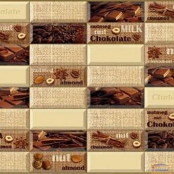 Изображение ПВХ панель Плитка Шоколад  957*477мм купить в procom.ua