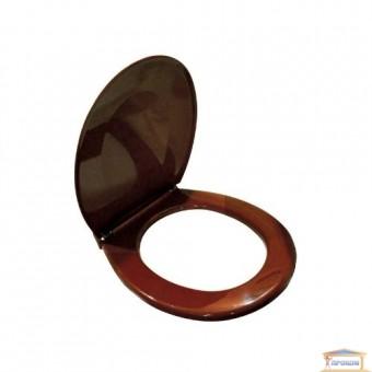 Изображение Сиденье для унитаза СД-21 коричневвое