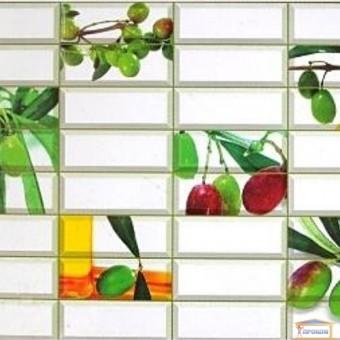 Изображение ПВХ панель Плитка Оливка 957*477мм купить в procom.ua