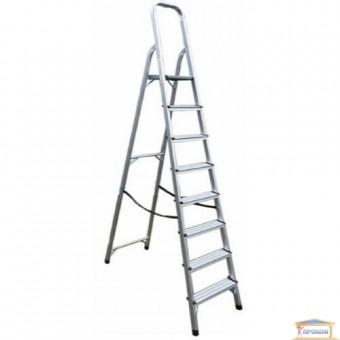 Изображение Лестница стремянка на 8 ступеней WERK 218 металл