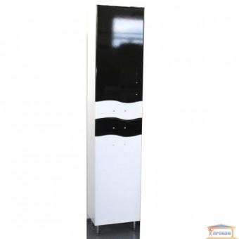 Изображение Пенал для ванны Волна К40 левый черный