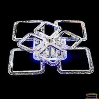 Изображение Люстра светодиодная QX 2519/4+4 WH LED Dimmer-3 купить в procom.ua