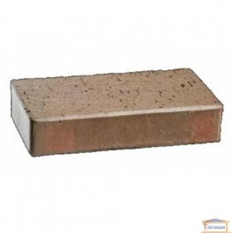 Изображение Брусчатка клинкерная магма топаз ПВ1 200*100*45 (706)
