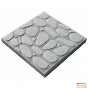 Изображение Тротуарная плитка Галька серый 30*30 купить в procom.ua