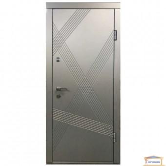 Изображение Дверь метал. ПК 163 V Грей/алюмин.тисненный 860 правая купить в procom.ua