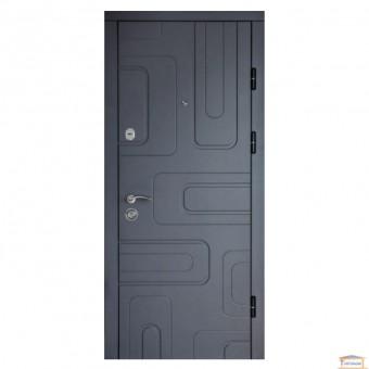 Изображение Дверь метал. ПК-52 правая 960 мм бетон темный купить в procom.ua