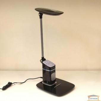Изображение Лампа настольная + колонка светод BL 1231 чорний