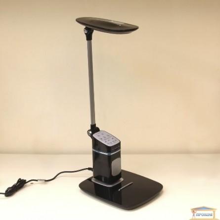 Изображение Лампа настольная + колонка светод BL 1231 чорний купить в procom.ua - изображение 1