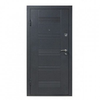 Изображение Дверь метал. ПУ 132 левая 960 мм вен гор серый АКЦИЯ купить в procom.ua