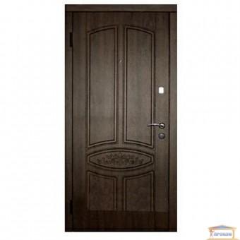 Изображение Дверь метал. Стандарт F+Гранат коричн.860 левая розет купить в procom.ua