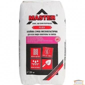 Изображение Клей для плитки Master-Flex эластичный 25кг