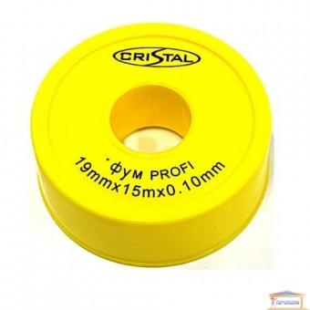 Изображение Фум-лента PROFI 19*0,1*15 тефлоновая (вода)
