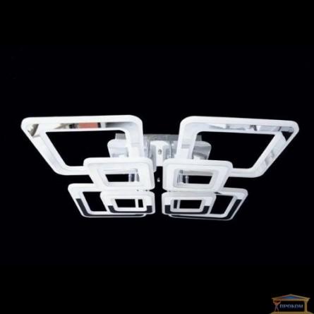Изображение Люстра светодиодная N 6604D-4+4 390W хром купить в procom.ua - изображение 1