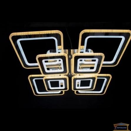 Изображение Люстра светодиодная N 6604D-4+4 390W хром купить в procom.ua - изображение 2