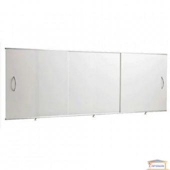 Изображение Экран под ванну Санта 1,7*0,5 белый (для стальных ванн) купить в procom.ua