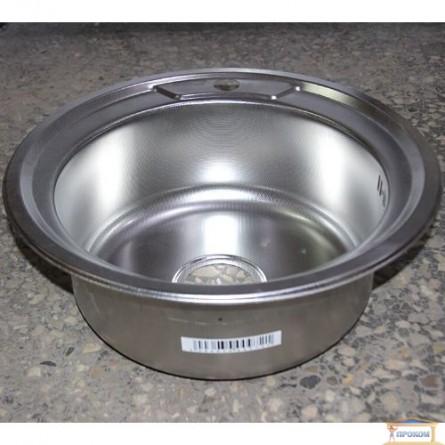 Изображение Мойка для кухни DELFI 490мм (08/180) декор купить в procom.ua - изображение 2