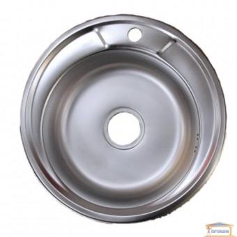 Изображение Мойка для кухни DELFI 490мм (08/180) матовая