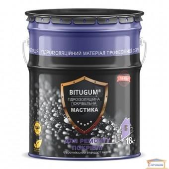 Изображение Мастика гидроизоляционная кровельная 18кг BITUGUM