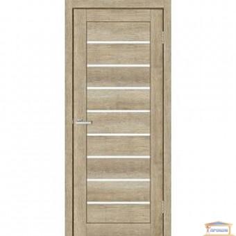 Изображение Дверь МДФ Смарт С 018 G 800 сатин/дуб дорато