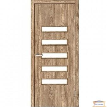 Изображение Дверь Модельные NL Аккорд3 ПО 800 сатин/NL дуб Ориндж купить в procom.ua