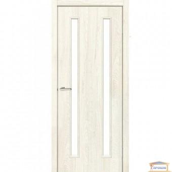 Изображение Дверь Модельные NL Вероника ПО 800 сатин/NL дуб Остин купить в procom.ua
