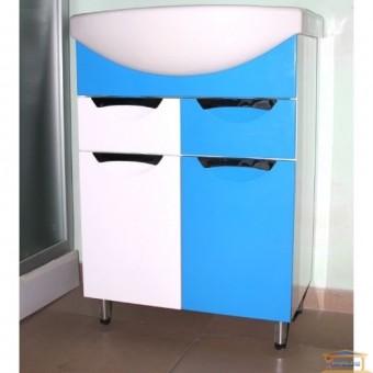 Изображение Тумба Гренада Изео 60 Т5 голубая купить в procom.ua