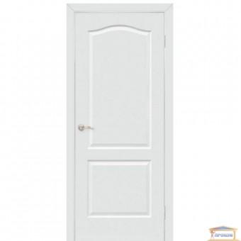 Изображение Дверь МДФ под покраску Классика ПГ 600 глухая белая грунт.