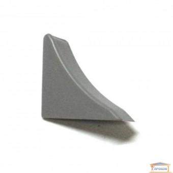 Изображение Заглушка для кухонного плинтуса металлик