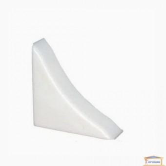 Изображение Заглушка для кухонного плинтуса мрамор белый