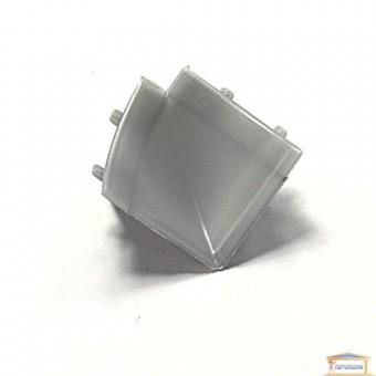 Изображение Угол внутренний для кухонного плинтуса металлик купить в procom.ua