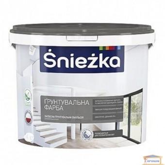 Изображение Краска-грунт Снежка белая 1,4кг купить в procom.ua