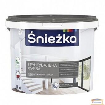 Изображение Краска-грунт Снежка белая 14 кг купить в procom.ua