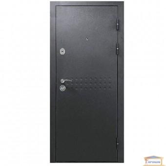 Изображение Дверь метал. БЦ Норд венге горизонт серый 960 правая