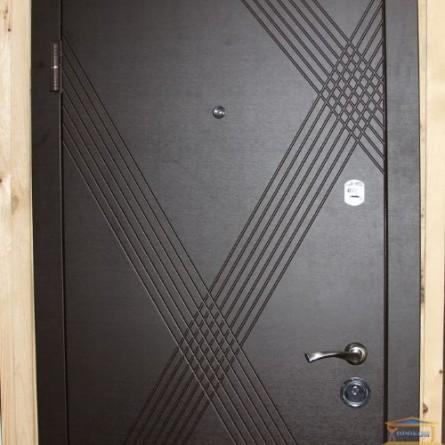 Изображение Дверь метал. ПБ 163 венге гор темный/дуб белен 860 левая купить в procom.ua - изображение 3