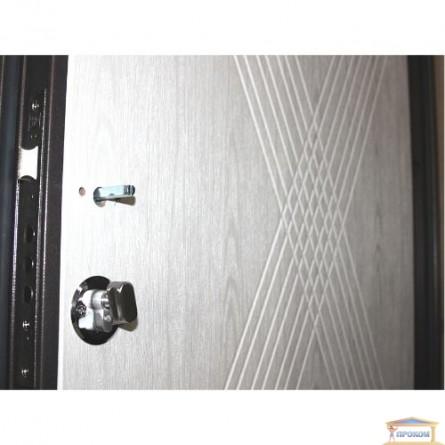Изображение Дверь метал. ПБ 163 венге гор темный/дуб белен 860 левая купить в procom.ua - изображение 6