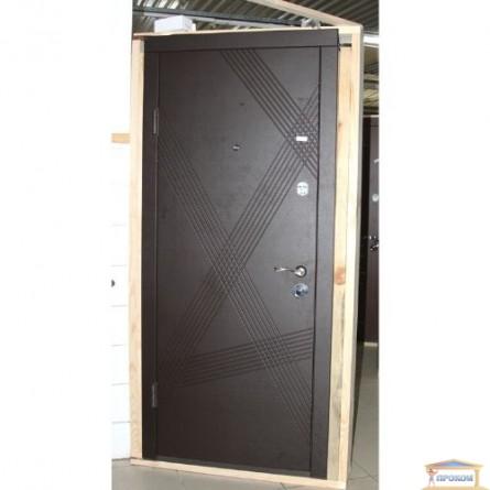 Изображение Дверь метал. ПБ 163 венге гор темный/дуб белен 860 левая купить в procom.ua - изображение 2