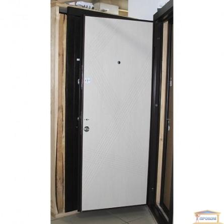 Изображение Дверь метал. ПБ 163 венге гор темный/дуб белен 860 левая купить в procom.ua - изображение 5