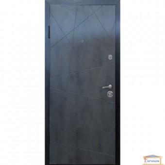 Изображение Дверь метал. ПК 156 левая 960мм бетон темный ночн купить в procom.ua