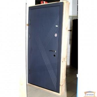 Изображение Дверь метал. ПК 180/161 Винорит антроцит/шато грей 960 левая купить в procom.ua