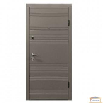 Изображение Дверь метал. ПО 135 софт темный правая 960 беж купить в procom.ua