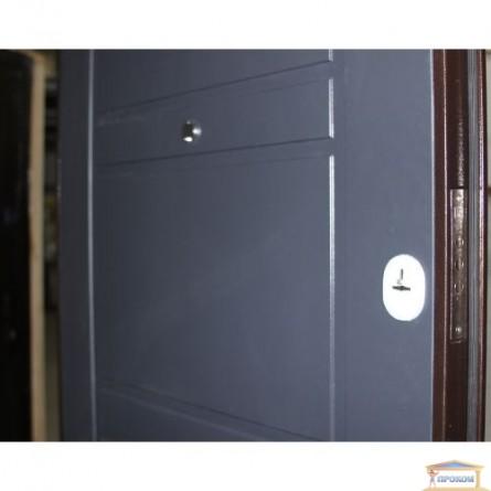 Изображение Дверь метал. ПУ 09 антрацит 960 правая купить в procom.ua - изображение 4