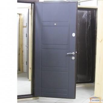 Изображение Дверь метал. ПУ 09 антрацит 960 правая купить в procom.ua
