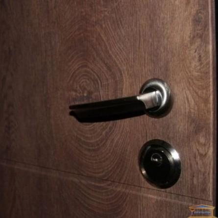 Изображение Дверь метал. Классик Аурис/спил коньяк 860 левая купить в procom.ua - изображение 4