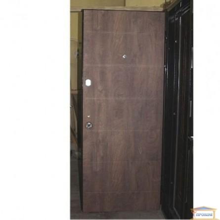 Изображение Дверь метал. Классик Аурис/спил коньяк 860 левая купить в procom.ua - изображение 2