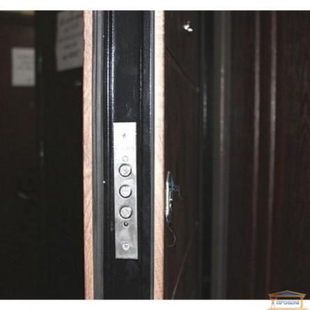 Изображение Дверь метал. Классик Аурис/спил коньяк 860 левая купить в procom.ua - изображение 5