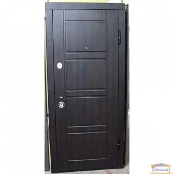 Изображение Дверь метал. ПК 09 венге структ/дуб белый 860 правая купить в procom.ua
