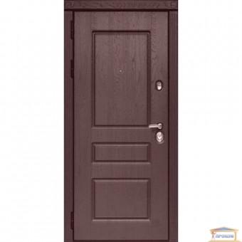 Изображение Дверь метал. ПО 59 V дуб темный/ночник 960 левая купить в procom.ua